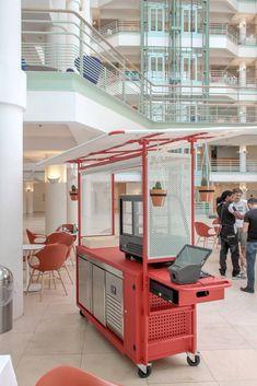 Food Stall Design, Food Cart Design, Kiosk Design, Signage Design, Food Truck, Ice Cream Roll, Mobile Restaurant, Mobile Coffee Shop, Mobile Food Cart