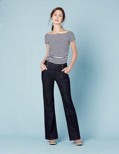 Jeans mal nicht eng und sehr elegant.
