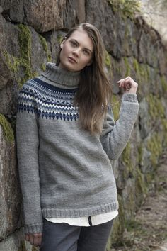 Nordic Yarns and Design since 1928 Knitwear, Turtle Neck, Knits, Pullover, Knitting, How To Make, Sweaters, Stuff To Buy, Collection