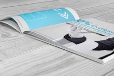 Marketing Kit | Brochure - Equipment for bottling liquids #marketingkit, #brochure, #catalog