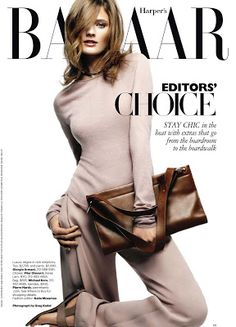 Fashion Maniac: Constance Jablonski by Greg Kadel US Harper's Bazaar May 2011
