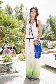 OUTFIT DEL DÍA: Look con falda larga