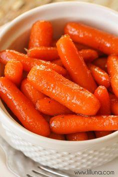 Brown Sugar Glazed Carrots recipe