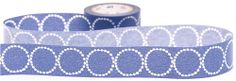 blue circles mt Washi Masking Tape deco tape tambourine