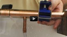 Stop a Water Leak on a Soldered Fitting or Holed Pipe - http://www.leakmate.com/stop-a-water-leak-on-a-soldered-fitting-or-holed-pipe/ #diyhouseholdfixes #plumbersupplies #frozenpipes #handymanprojects #plumbingprojects #pipefittingprojects #dripingpipes# #tool