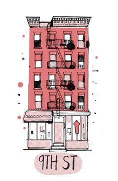 all the buildings in new york :: illustrations from james gulliver