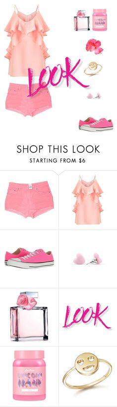 """Pink Summer"" by fairyofdarkness-1 ❤ liked on Polyvore featuring Carmar, Miss Selfridge, Converse, Ralph Lauren, NYX, Lime Crime and Bing Bang"