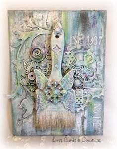 Mixed Media on Metal – Confessions of a Stampo'holic