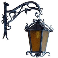Forged Metal Lights Wrought Iron Lamps