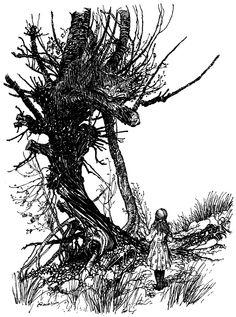 Arthur Rackham (illus.) Alice's Adventures in Wonderland