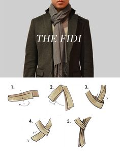 How to Tie a Scarf   The Compass