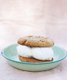 Peanut Butter Cookie Ice Cream Sandwiches Recipe