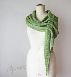 Homemade Asymmetric Knitted Stylish Scarf Project  Homesteading  - The Homestead Survival .Com