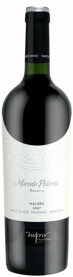 """""""Reserva"""" Malbec 2010  - Marcelo Pelleriti wines, Valle de Uco, Mendoza------------------------- Terroir: La Consulta (San Carlos) &Altamira (San Carlos) -------------Crianza: 14 meses en barricas de roble francés"""