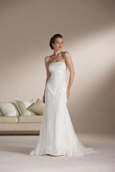 Belle Robe de mariée en dentelle