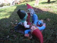 Zombie Gnomes: Love a la carte. $40.00, via Etsy.