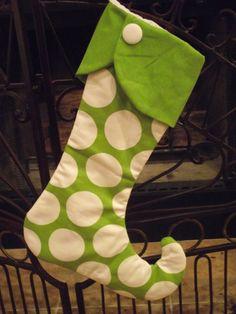 Christmas Stocking by WhimsicalDesignsbyMe on Etsy