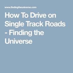How to drive on single track roads, including tips for using passing places correctly and overtaking. Includes tips for left and right side roads, including Scotland and Iceland Side Road, Spring Vacation, Roads, Scotland, Track, Universe, Road Routes, Runway, Street