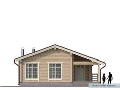Проект дома из клееного бруса Нарва Cottage House Plans, Small House Plans, Cottage Homes, Traditional House Plans, Home Technology, Cabana, Shed, Outdoor Structures, How To Plan