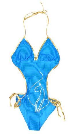 b3cf4e6157c Baby Phat Womens Blue Stripe Printed Fashion « Clothing Adds Anytime