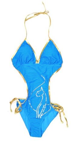Baby Phat Womens Blue Stripe Printed Fashion « Clothing Adds Anytime
