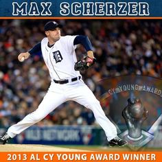 Congratulations to the Tigers own Max Scherzer on taking home the 2013 American League Cy Young Award!