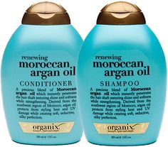 Organic Moroccan Argan Oil shampoo and conditioner. I absolutely love these two. They work perfectly together. Great smell and results.