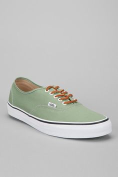 Vans Authentic Brushed-Twill Sneaker #urbanoutfitters
