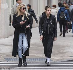 Good friends:Ashley Benson stepped out with her pal Kristen Stewart, in New York City on Tuesday