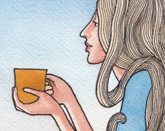 coffee by Fay on Etsy