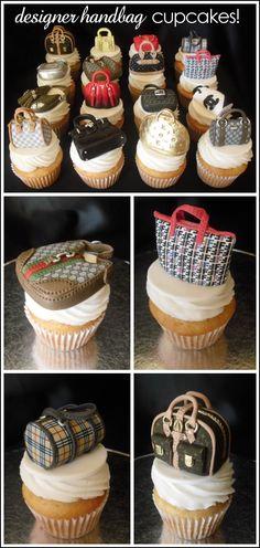 ❥ Cupcakes. Menuda colección de bolsos!