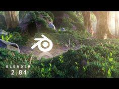 Making this beautiful cave scene in Blender Complete breakdown Vfx Tutorial, Cinema 4d Tutorial, Animation Tutorial, 3d Animation, Blender 3d, Blender Models, 3d Model Character, Character Design, Art Tutorials