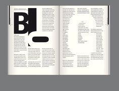 Editorial Design: Bluszcz Magazine by Joanna Tyborowska, via Behance