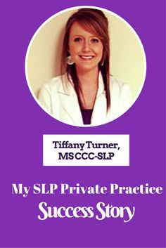 Tiffany Turner always dreamed of starting her own adult speech therapy private practice. Learn about her journey and tips for your success: https://www.independentclinician.com/blog/from-major-setback-to-full-time-success-tiffany-turners-speech-pathology-private-practice-success-story
