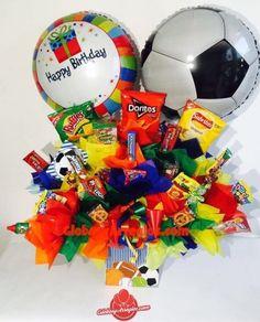 Regalo para hombre, Regalo para niño, Regalo para mi nieto, Regalo de dulces, Arreglo de dulces, Arreglo para toda ocasión, Arreglo de cumpleaños, Arreglo para centro de mesa, Arreglo de globos monterrey
