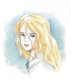 A beautiful portrait of Marnie, illustrated by Studio Ghibli director Hiromasa Yonebayashi (米林宏昌) for his collection Hiromasa Yonebayashi Illustrations (Amazon JP | US). When Marnie Was There (思い出のマーニー) opens in Japan on 19th July 2014!