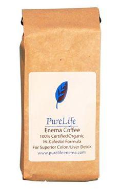 Roasted Organic Enema Coffee