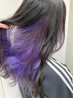 Under Hair Dye, Under Hair Color, Hair Color Underneath, Hair Color Streaks, Hair Dye Colors, Hair Inspo, Hair Inspiration, Peekaboo Hair, Pink Ombre Hair