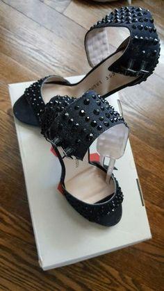 Black dress stiletto heels
