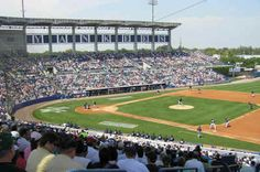 George M. Steinbrenner Field, formerly Legends Field (1996), Tampa, Florida, the Spring Training home of the New York Yankees