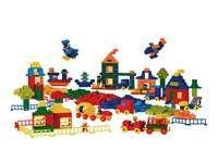 Grote 550-delige basisset met stenen in de nieuwe LEGO kleuren, figuren en…
