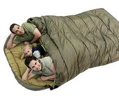 Mammoth 2-Person Sleeping Bag. Very cool website as well. Lots of neat stuff!