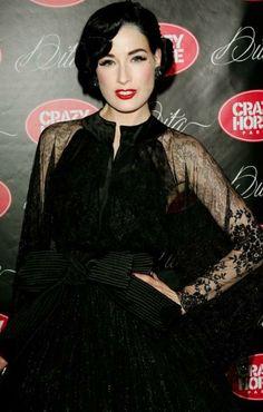 Dita Von Teese. the makeup - she's so gorgeous!