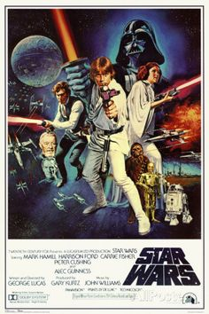 Star Wars - Episode IV New Hope - Classic Movie Poster ポスター