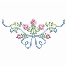 Heirloom Floral Ribbon Embroidery Designs, Machine Embroidery Designs at EmbroideryDesigns.com