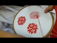 How to make sindhi emboridery hand work. In this video tutorial you will learn the extended version of basic square pattern. This pattern comprise of 5 Squares, all togather they make a beautiful big embroidery . video me sindhi design ka thora sa part Border Embroidery Designs, Kurti Embroidery Design, Hand Embroidery Videos, Embroidery Stitches Tutorial, Embroidery Works, Embroidery Kits, Beaded Embroidery, Embroidery Dress, Kutch Work Designs