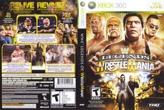 Xbox 360, Wrestling, Baseball Cards, Games, Lucha Libre, Gaming, Plays, Game, Toys