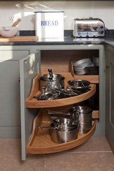 We specialise in bespoke kitchens and joinery, fine interiors and renovation works. Secret Storage, Hidden Storage, Kitchen Aid Mixer, Kitchen Appliances, Bespoke Kitchens, Larder, Bathroom Interior Design, Joinery, Kitchen Storage