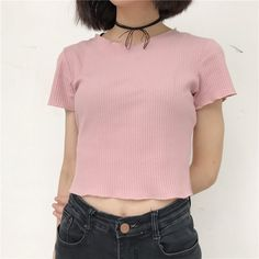 Ribbed Crop Top Kozy Use 'LittleAlien' to get 10% off!
