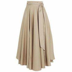 Tibi Obi Cotton-Crepe Maxi Skirt as seen on Karlie Kloss Cotton Maxi Skirts, Long Maxi Skirts, Summer Skirts, Midi Skirts, Long Pink Skirt, Pink Maxi, Beige Skirt, Skirt Outfits, Dress Skirt